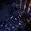 Cena in bianco: Piazza del Foro
