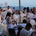 Cena in bianco: Castello