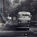 In autobus e filobus durante il boom